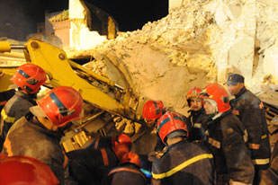 Mosque-மினெரெட்-collapsed-Morocco