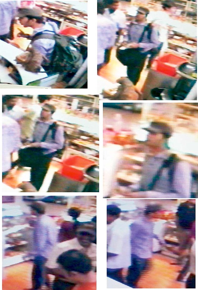 CCTV images pointing to the suspects