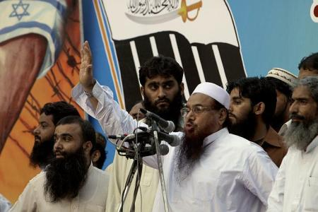 Kashmir Door to Teach India a Lesson - Hafiz Saeed