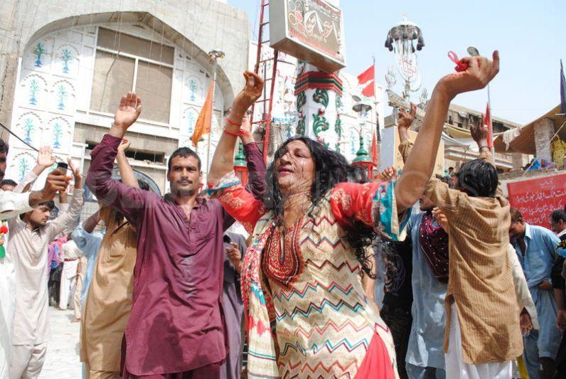 760th Urs celebrations of Hazarat Lal Shahbaz Qalander RA in Sehwan Sharif Pakistan