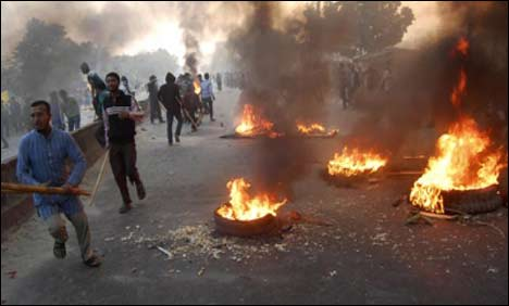Bangladesh protesters against Capital punishment