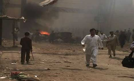 Christians attacked in Pakistan 2013