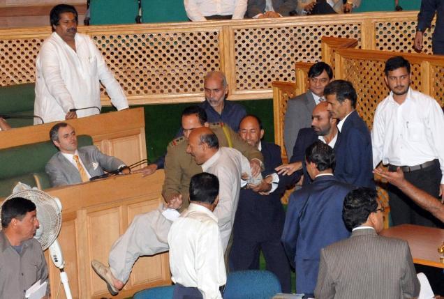 Jammu & Kashmir Assembly March 2012