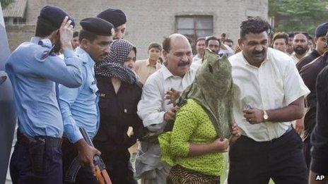 Rimsha - christian girl arrested for blasphemy