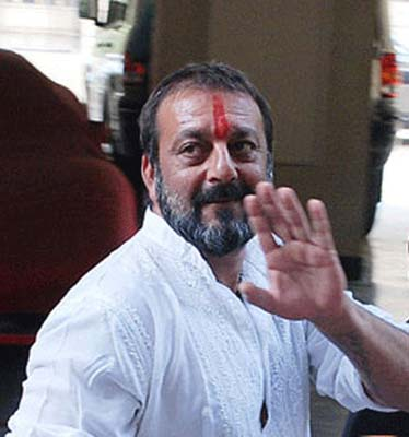 Sanjay-Dutt with Tilak