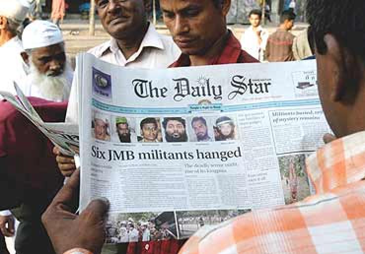 Six JMB militants hanged in Bangaladesh