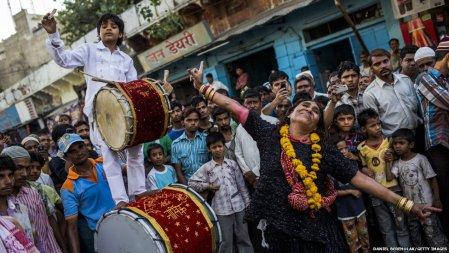 Sufi dance at Ajmir dargah Urs festival 2012