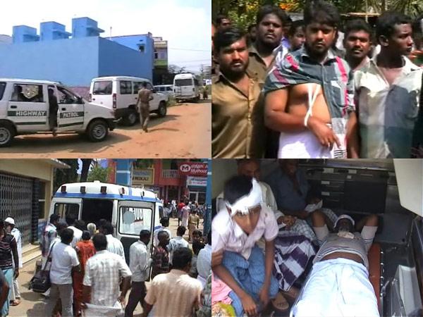 Kadayanallur clash between Muslim groups.3