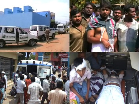 Kadayanallur clash between Muslim groups.3