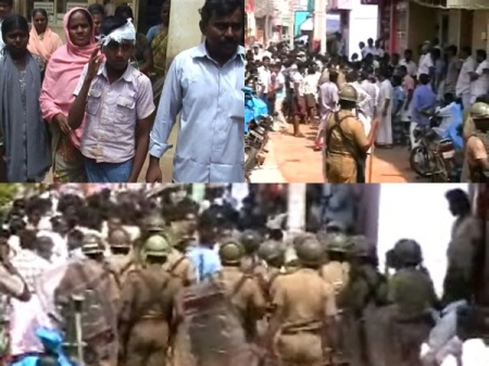 Kadayanallur clash between Muslim groups.4