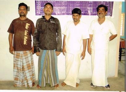 Paramakudi - the arreseted four