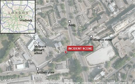 London terrorist Woowich