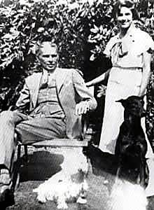 jinnah_and_dina and dogs