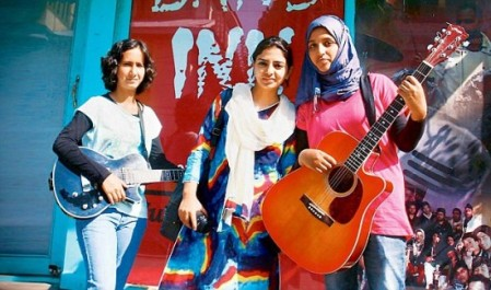 Kashmir girls band group.2