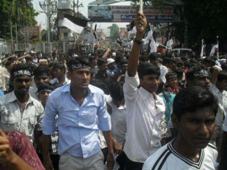 TMMK 2011 December 6 protest