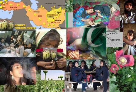 Pakistan women drug addicts