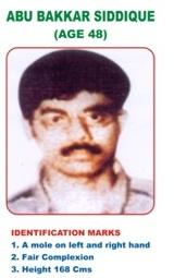 Abubakkar Siddique - TN police notice