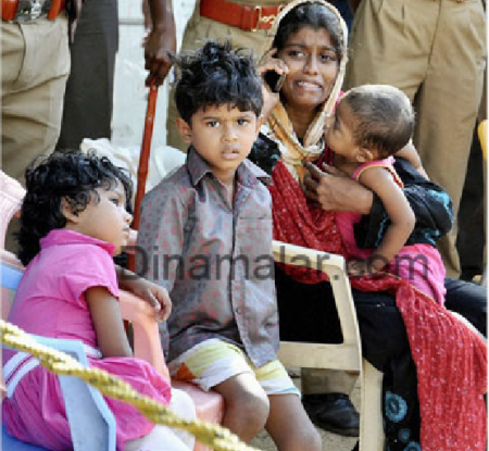 Tamil Jihadis used woman-children as shield