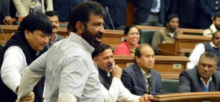 जदयू विधायक शोएब इकबाल - Sohaib Iqbal threatened AAP Viswas