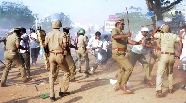 முஸ்லிம்கள் ரகளை ராமநாதபுரம் 2014