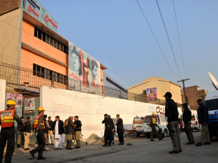 Bomb attack at Pakistan cinema kills 1