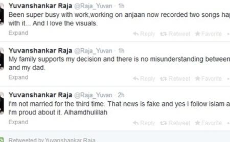 Yuvansankarraja converting to islam