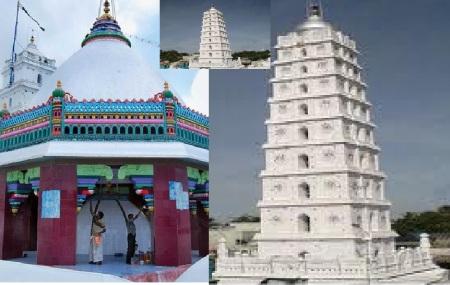 Inside dargah Hindu temple like structure