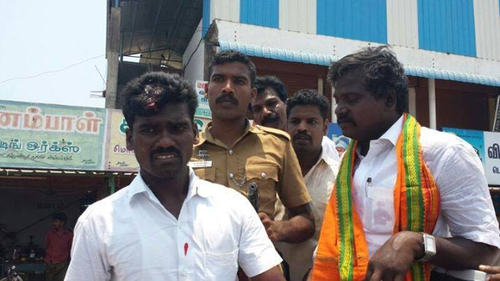 SDPI attack on BJP.4