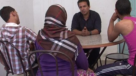 This family told Ahmed Maher (pictured) their daughter had been brainwashed