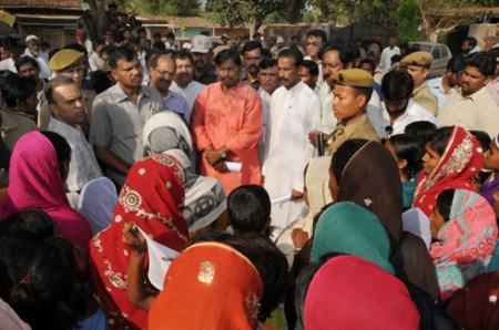 Arjun Munda visits Chanho