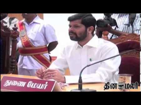 Asique Meeran Trichy Dy Mayor accused