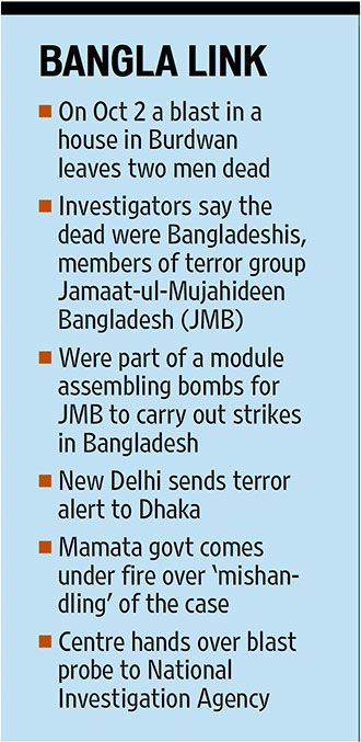 Bangla link with Burdwan blast JMB