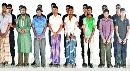 Eight JMB arrested for militant snatching in Bangladedsh