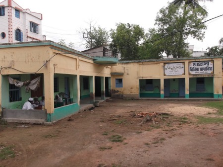 Madrasha Dinia Madania at Khakhragarh, Burdwan.