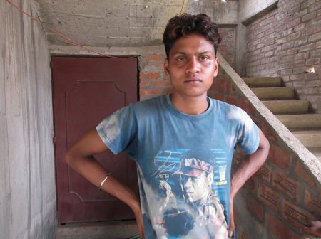 Shahnawaz Khan alias Chhotu, a local plumber, one of the persons to enter the rented house after the blast.