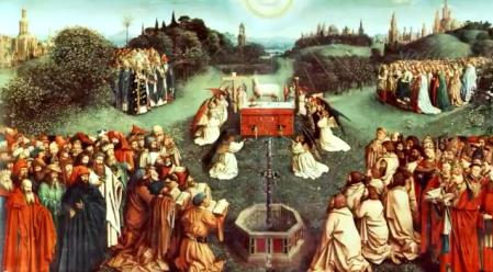 Eucharist lamb sacrifice