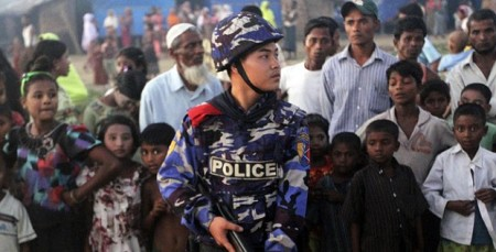 Burma Rohingya Refugee Camp