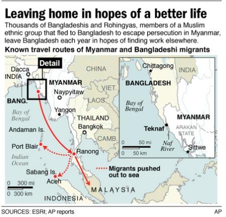 MYANMAR_MIGRANTS, where they go