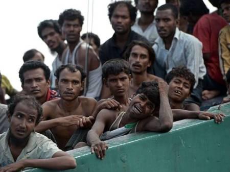 Stranded Burma-Migrants-AFP