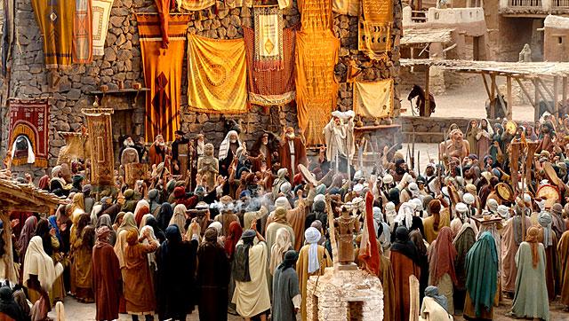 Mohammed-messenger of god - a scene