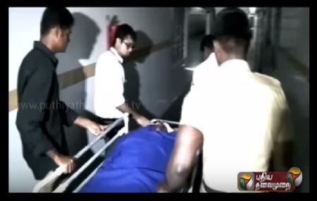 Puzhal attacked police admitted in Hospital - 25-09-2015