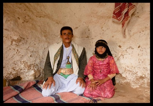 Old Muslims marrying young girls.2