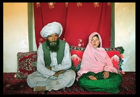 Old Muslims marrying young girls