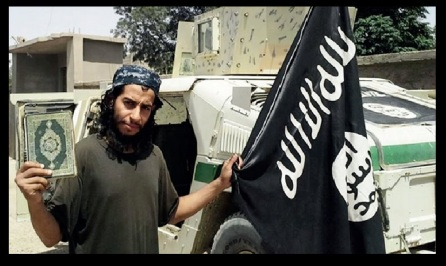 This undated image made available in the Islamic States English-language magazine Dabiq, shows Belgian national Abdelhamid Abaaoud