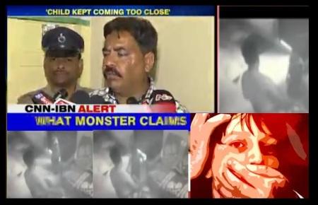 Mohammed Akram Khan pedophile arrested in Hyderabad - arguing.