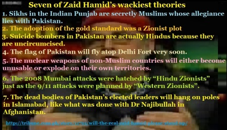 False propaganda of Zaid Hamid - The Express Tribune, Pakistan