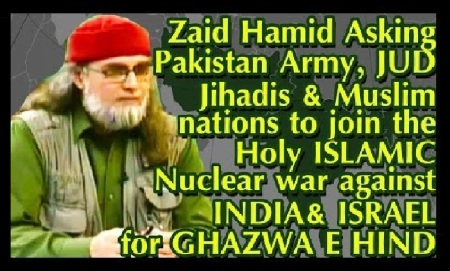 Zaid Hamid asks to wage jihad against India and isreal