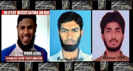 Mohammed Afzal, Najumul Huda, Rizwan
