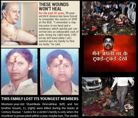 Mumbai blast victims - none bothers about their rights