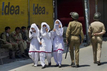 Police protecting JK girls